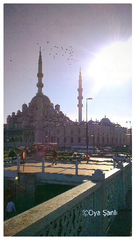 New Mosque from Galata Bridge